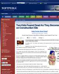 Two Kids Feared Dead As They Become Trapped: Softpedia